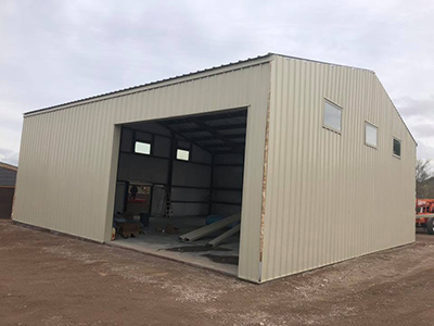 New industrial garage